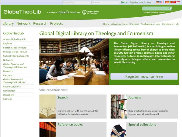 global theological library