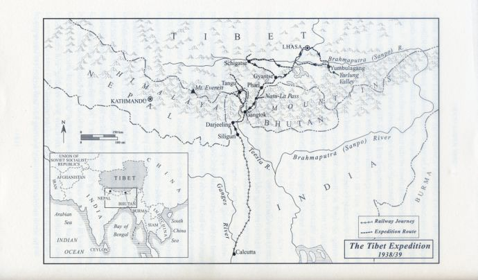 19. tibet expedition map