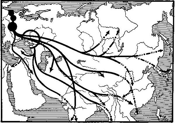 map germans